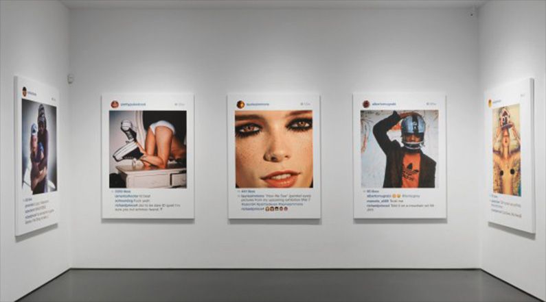 Réseaux sociaux et art contemporain
