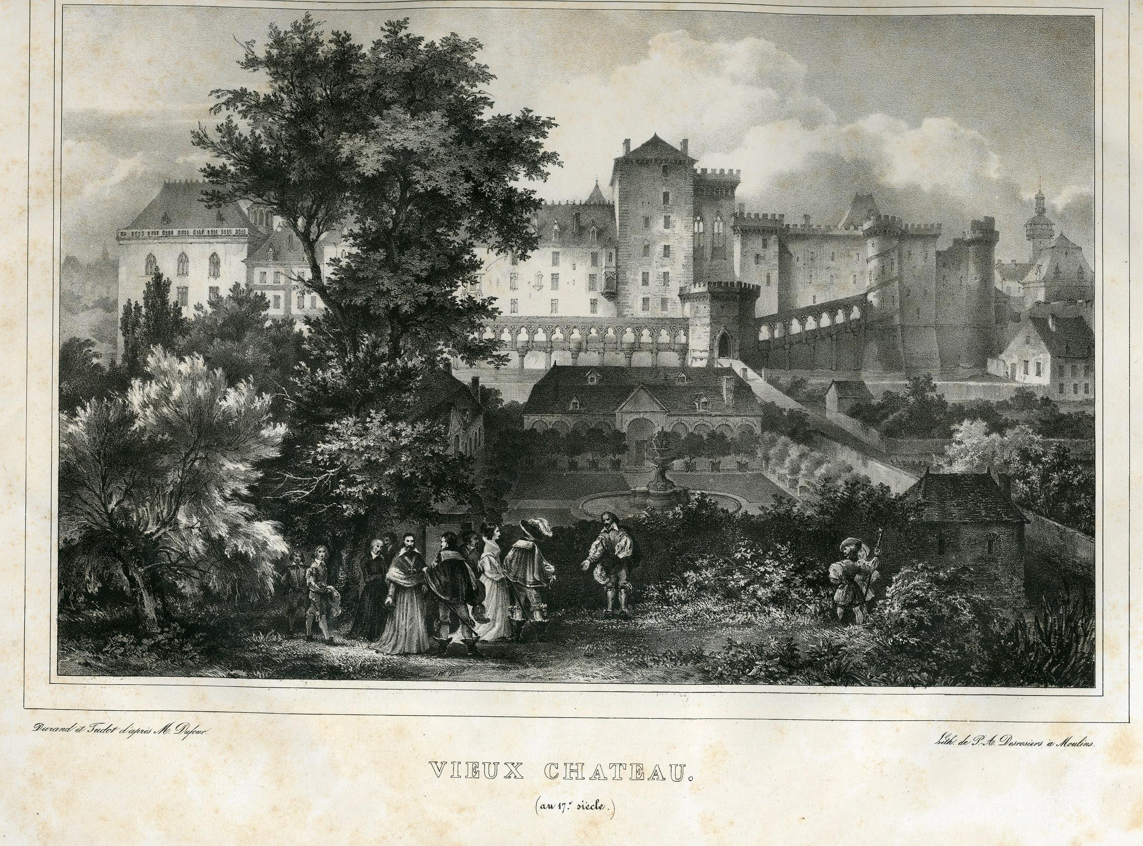 Chateau des ducs de Bourbon