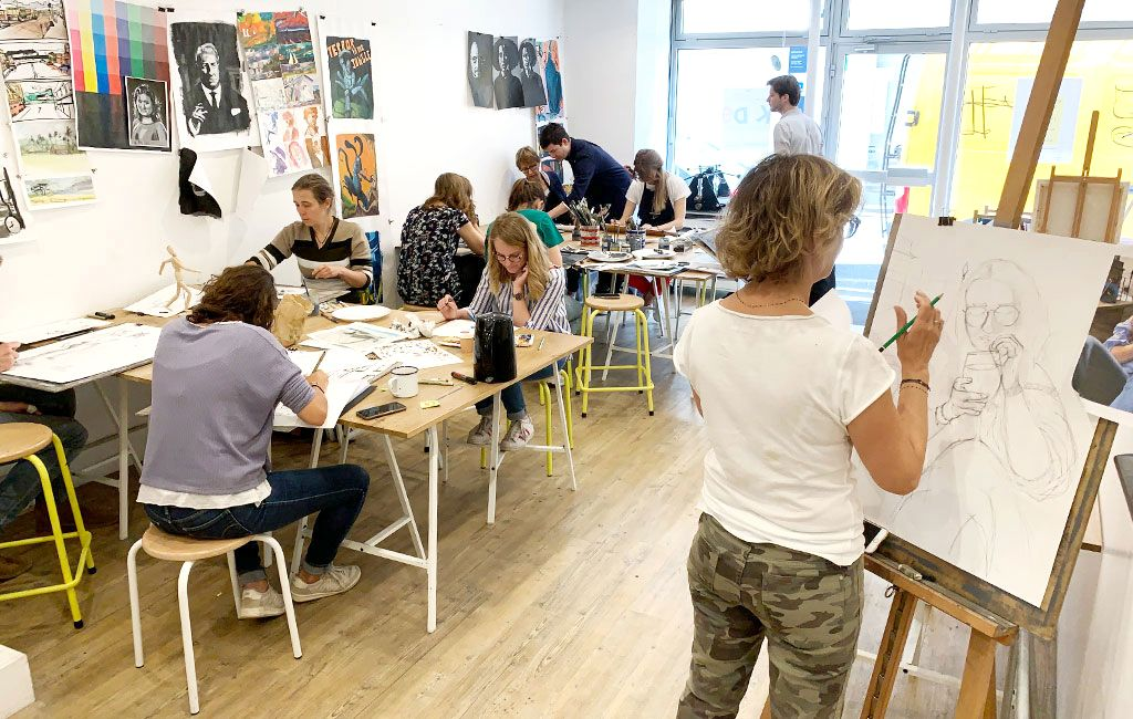 L'école qui démocratise l'apprentissage de l'art